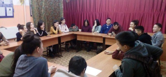 Встреча старшеклассников со студентами